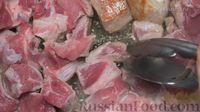 Фото приготовления рецепта: Оджахури (жареное мясо с картофелем) - шаг №2