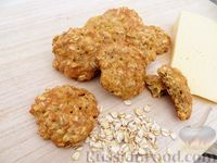Фото к рецепту: Овсяное печенье без сахара и муки