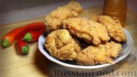 Фото к рецепту: Острые куриные крылышки в панировке