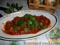 Фото к рецепту: Гуляш из свинины с томатной подливкой