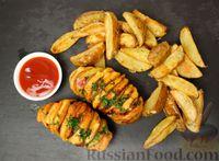 Фото к рецепту: Картофель, запечённый в духовке (два рецепта)