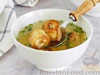 Вкусный суп с куриным фаршем и сливками - рецепт пошаговый с фото
