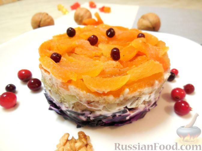 Салат Нежный с мясом « Рецепты салатов | 505x673