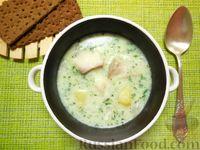 Фото к рецепту: Молочный суп с рыбой