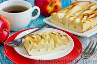 Фото к рецепту: Творожная запеканка с яблоками