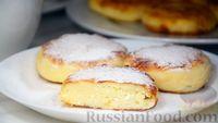 Фото к рецепту: Идеальные сырники из творога (на сковороде)