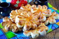 Фото к рецепту: Булочки с кокосовой начинкой