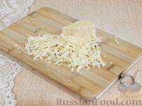 Фото приготовления рецепта: Тефтели, запечённые под грибным соусом - шаг №10