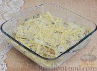 Фото приготовления рецепта: Тефтели, запечённые под грибным соусом - шаг №11
