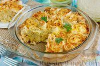 Фото к рецепту: Пирог из лаваша с капустой
