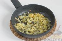 Фото приготовления рецепта: Чечевица с шампиньонами - шаг №4