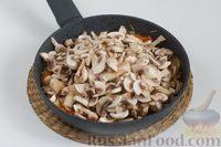 Фото приготовления рецепта: Чечевица с шампиньонами - шаг №6