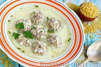 Фото к рецепту: Суп с фрикадельками, по-армянски