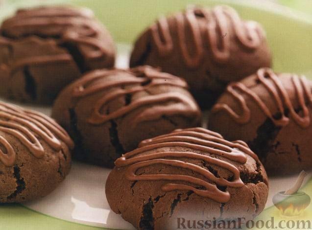мягкое шоколадное печенье рецепт