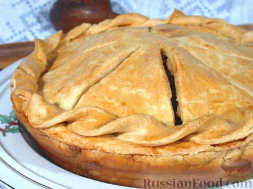 Рецепт Валлийский куриный пирог