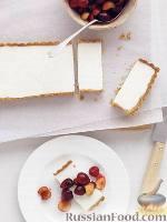 Фото к рецепту: Пирог-десерт «Панна-котта»