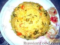 Фото к рецепту: Рис с овощами