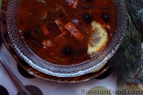 Рецепт Домашняя солянка