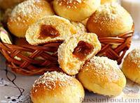 Рецепт Булочки с карамелью - домашняя выпечка