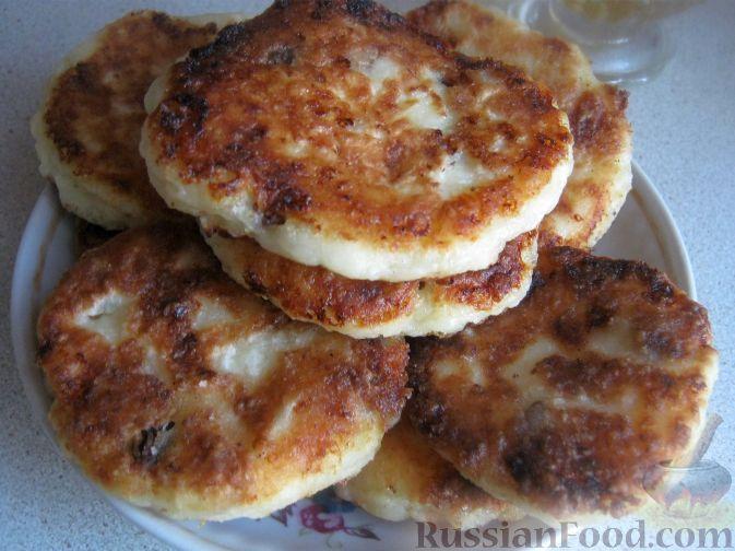 Рецепт Быстрые сырники с манной крупой