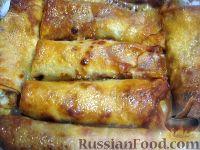 Фото к рецепту: Полтавские налистники с творогом