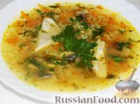 Фото к рецепту: Рисовый суп с курицей