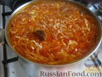 Фото приготовления рецепта: Борщ русский - шаг №8