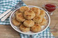 Фото к рецепту: Котлеты из картофельного пюре, в духовке