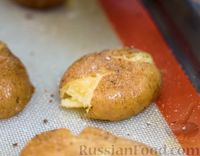 Фото приготовления рецепта: Хрустящая раздавленная картошка в духовке - шаг №3