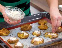Фото приготовления рецепта: Хрустящая раздавленная картошка в духовке - шаг №5