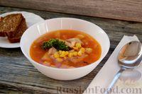 Фото к рецепту: Томатный рыбный суп