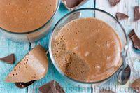 Фото к рецепту: Шоколадный пудинг с агар-агаром