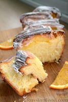 Фото к рецепту: Цитрусовый пирог