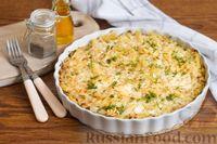 Фото к рецепту: Запеканка из макарон с капустой и сыром