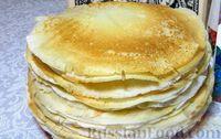 Фото к рецепту: Яблочные блины по старорусскому рецепту