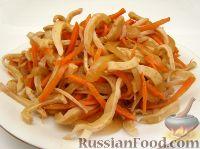 Фото к рецепту: Кальмары по-корейски