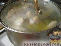 Фото приготовления рецепта: Суп «Харчо» - шаг №3