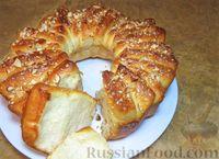 Фото к рецепту: Чудо-пирог из дрожжевого теста