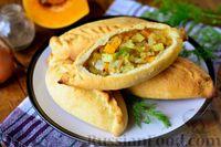 Фото к рецепту: Пирожки с картошкой и тыквой