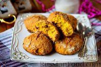 Фото к рецепту: Овсяное печенье с тыквой и изюмом