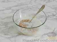 Фото приготовления рецепта: Куриные блины с грибным соусом - шаг №5