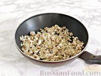 Фото приготовления рецепта: Куриные блины с грибным соусом - шаг №11