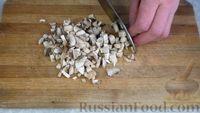 Фото приготовления рецепта: Постные котлеты из овсяных хлопьев с грибами - шаг №3