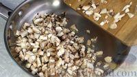 Фото приготовления рецепта: Постные котлеты из овсяных хлопьев с грибами - шаг №4