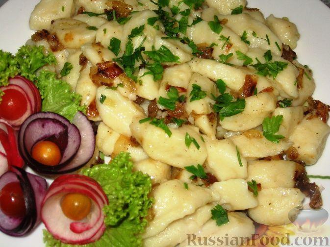 Рецепт Палюшки - картофельные галушки