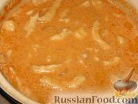 Фото приготовления рецепта: Куриный беф-строганов - шаг №8