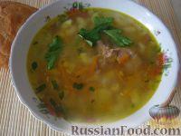 Фото к рецепту: Суп из тушенки