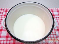 Каша из рисовых хлопьев с шоколадной крошкой - рецепт пошаговый с фото