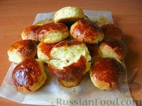 Фото к рецепту: Творожные булочки, которые долго не черствеют