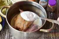 "Фото приготовления рецепта: Суп ""Затируха"" с курицей - шаг №2"
